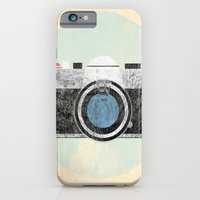 iPhone & iPod Case featuring Vintage Camera by Simone Shin