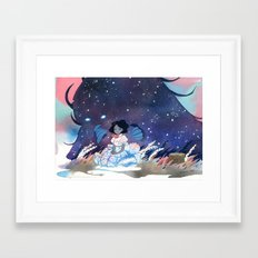 Miila and Sadmoor Framed Art Print