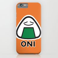 Oni The Onigiri, Kawaii iPhone 6 Slim Case
