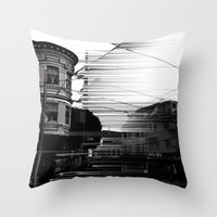 Deconstructions 2B Throw Pillow
