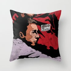 Hello I'm Bob/ fight club/ tyler durden Throw Pillow