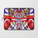Color and lines in space Laptop Sleeve