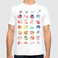 artists palette Mens Fitted Tee White SMALL