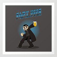 Gary King vs The World's End Art Print