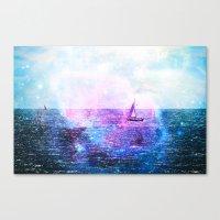 Sail Off The Earth Canvas Print