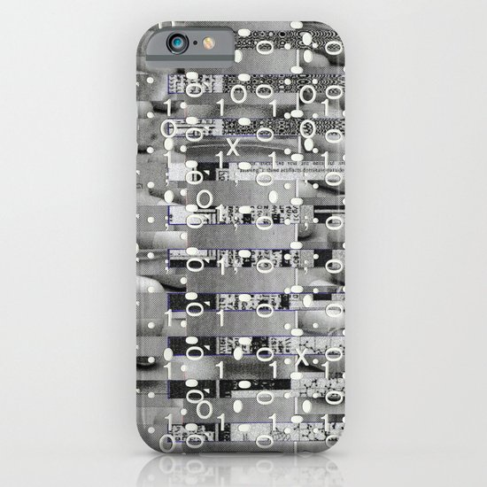 Knowing Wink (P/D3 Glitch Collage Studies) iPhone & iPod Case