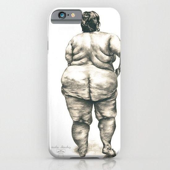 mujer en la ducha iPhone & iPod Case