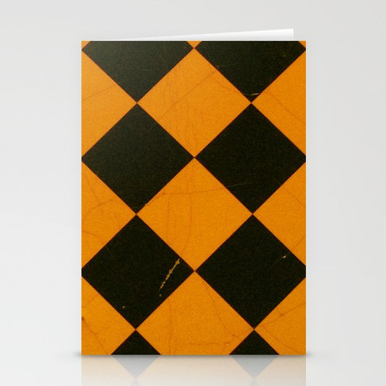 Squares Stationery Card