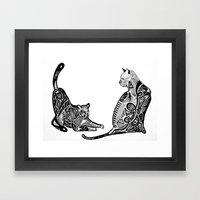 KKats. Framed Art Print