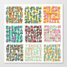 Ars Celare Artem Canvas Print