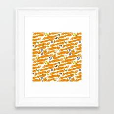Kitsune Framed Art Print