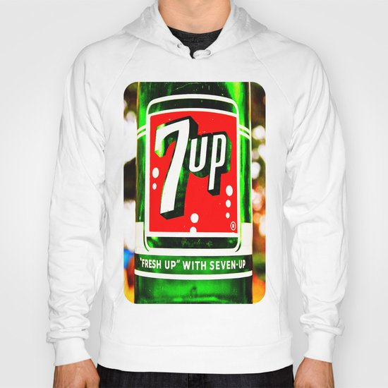 """Fresh up"" with Seven-Up Hoody"