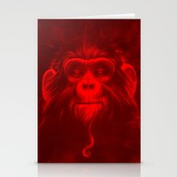 Twelfth Monkey Stationery Cards