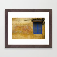 Ghost sign Framed Art Print