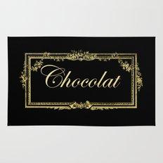 vintage chocolate Rug