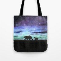 Aurora Borealis And Pola… Tote Bag