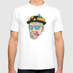 Walter SMALL White Mens Fitted Tee