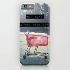 Grocery Cart Rage  iPhone 6s Slim Case