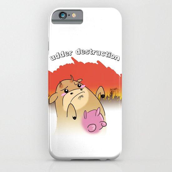 """""""udder destruction"""" iPhone & iPod Case"""