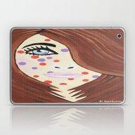 Laptop & iPad Skin featuring Cinnamon Girl by Kathleen Sartoris