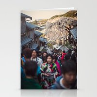 The Road To Kiyomizu, Ky… Stationery Cards