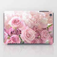 Pink Bouquet of Roses iPad Case