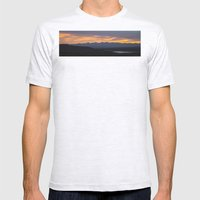 Colorado Vista Sunset Pa… Mens Fitted Tee Ash Grey SMALL