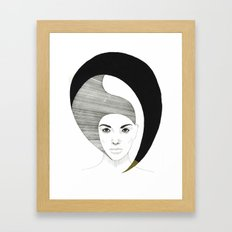 Fashion Illustration 4  Framed Art Print