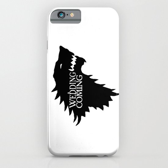 A Wedding Is Coming iPhone & iPod Case