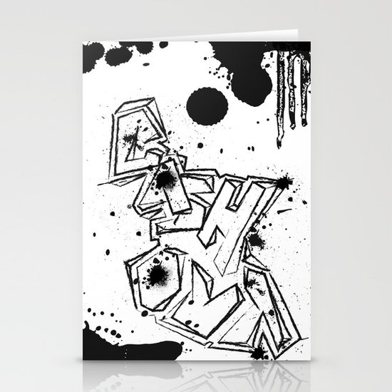 Cash Out Stationery Card