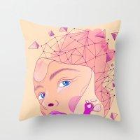 Transmutation Throw Pillow