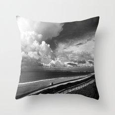 Torrance Beach Throw Pillow