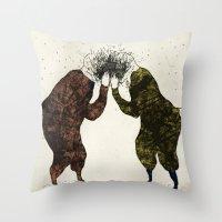 Supisupi Throw Pillow