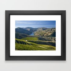 Vineyards In The Douro V… Framed Art Print