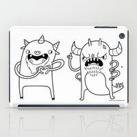 Monster Dialogues iPad Case