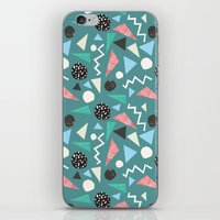 Shapes pattern iPhone & iPod Skin