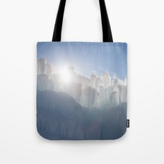 Ice Castles Tote Bag