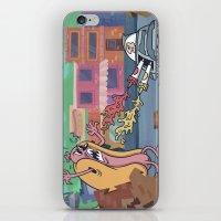 Hot Dog Attack! iPhone & iPod Skin