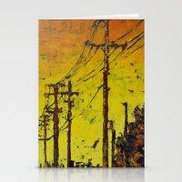 Maple Sunset Stationery Cards