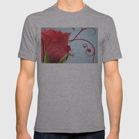 Rose, Reinvented Mens Fitted Tee Athletic Grey SMALL