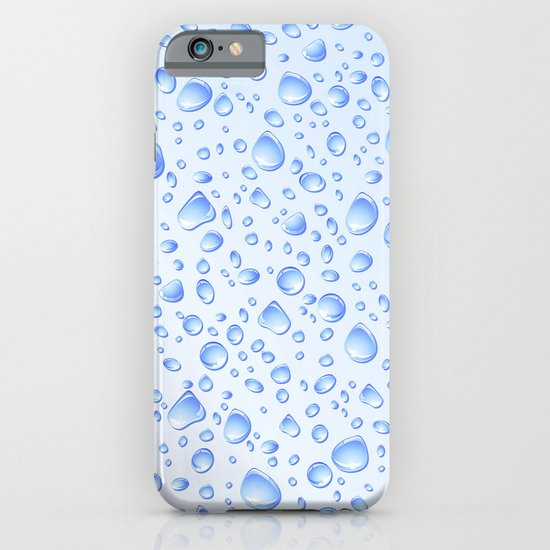 Clear Water Drops Pattern iPhone & iPod Case