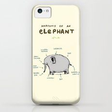Anatomy Of An Elephant iPhone 5c Slim Case