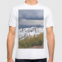 Sonora Peak Mens Fitted Tee Ash Grey SMALL