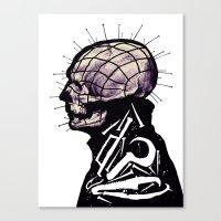 Pinhead Canvas Print