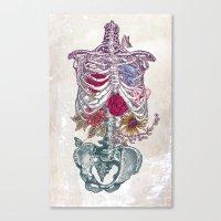 Canvas Prints featuring La Vita Nuova (The New Life) by Rachel Caldwell