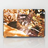 Cat In The Shadows iPad Case