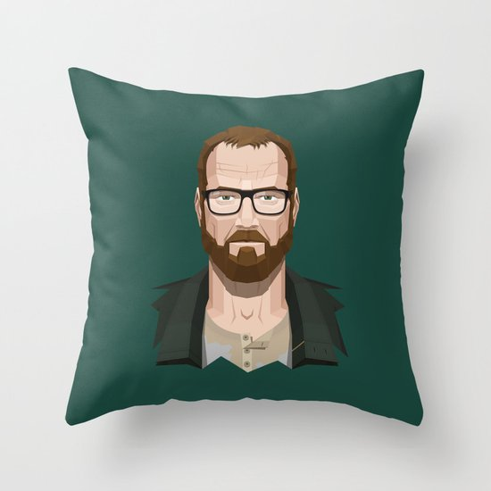 Goodbye, Walt Throw Pillow