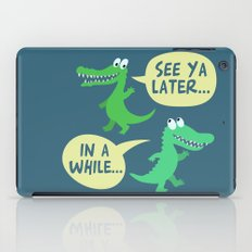 in a while... iPad Case
