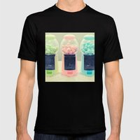 Bubble Gum Mens Fitted Tee Black SMALL
