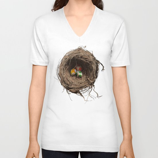 Yoshi Eggs V-neck T-shirt